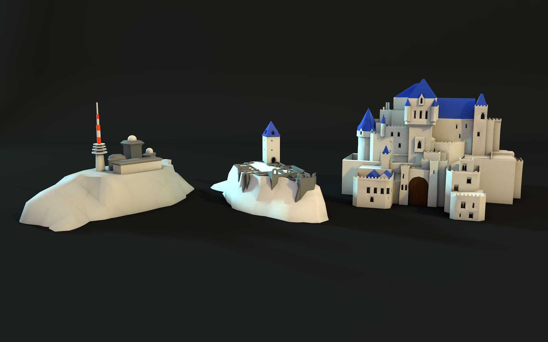 LHK Sachsen-Anhalt, VR Rocking Horse 3D Assets, Burg @ Mathias Nell