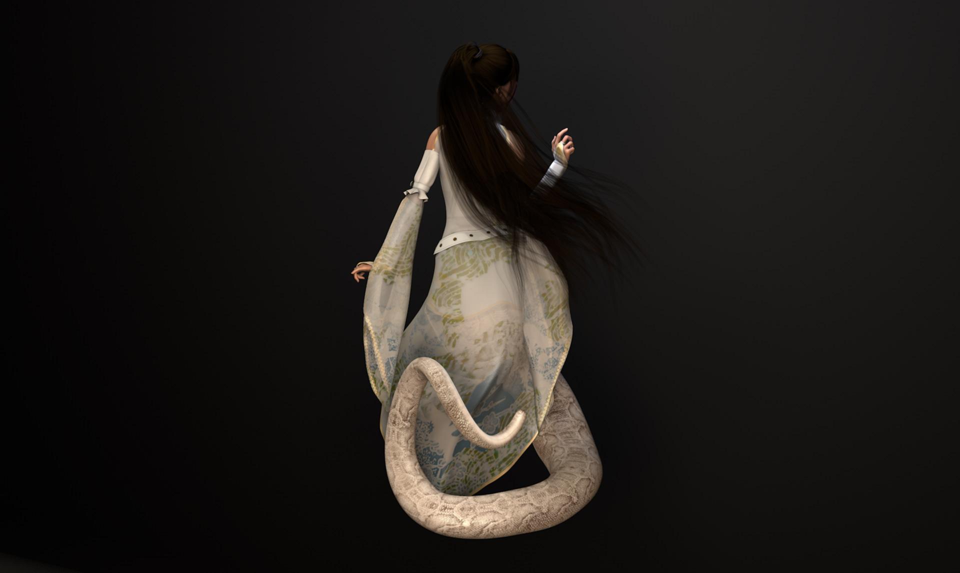Ms. White Snake @ Mathias Nell