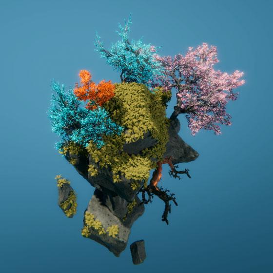 fractal-tree unity 3D