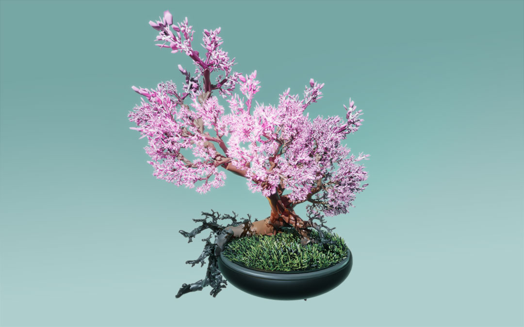 Fractal, Tree, blossom, Unity 3D, Game, Pflanzenwelt @ Mathias Nell