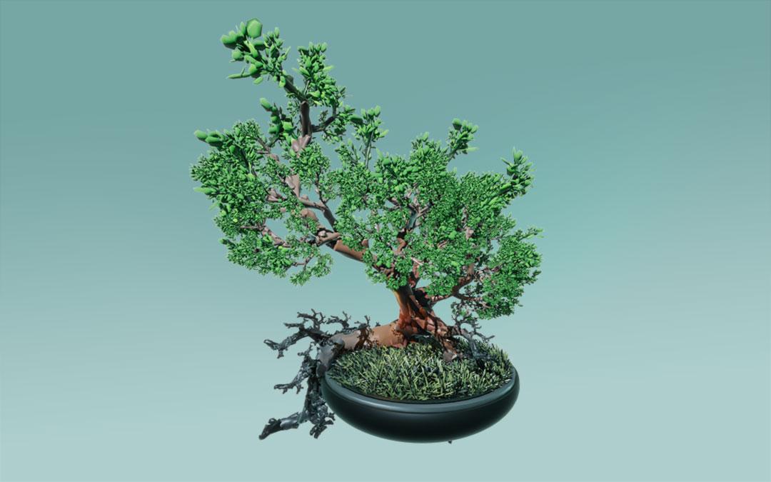Fractal, Tree, Unity 3D, Game, Pflanzenwelt @ Mathias Nell