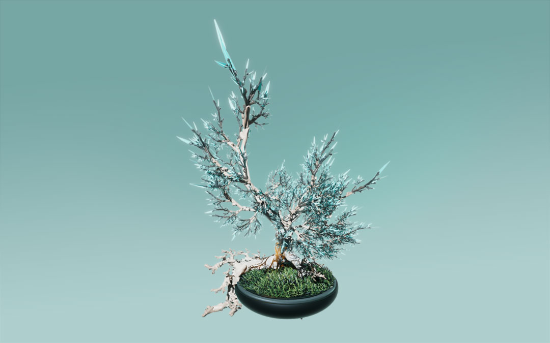 Fractal, Tree, Frost,Unity 3D, Game, Pflanzenwelt @ Mathias Nell
